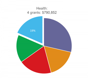 Health pie graph